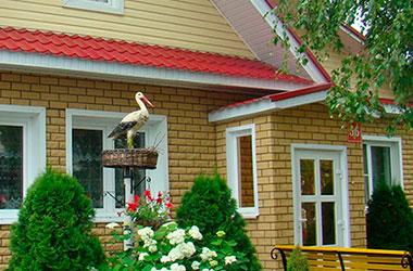 Окна Novoline Green на даче