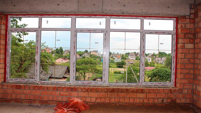Пластиковые окна без откосов