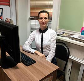 Менеджер Юлия Васильева